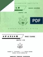 FSI Spanish Basic Course Volume 1 Student Text