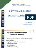Conversando Sobre Economia Solidaria