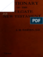 Harden. Dictionary of the Vulgate New Testament. 1921.