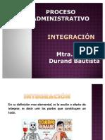 Proceso Administrativo Integración