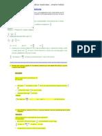 Exercícios de matemática resolvidos