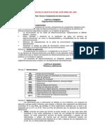 Plan Tecnico Fundamental de Sincronizacion