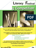 2011 Frankston City Libraries Writing Competition Flyer and Entry Form