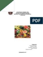 Plan de Produccion Pulpa de Frutas