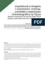 Artigo_Logos_Entre Arquiteturas e Imagens Em Movimento Em PDF