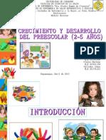 Desarrollo y Crecimiento Preescolar