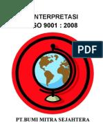 Interpretasi ISO 9001-2008