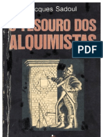 O Tesouro Dos Alquimistas - Jacques Sadoul