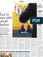 Eye to eye with youth justice
