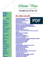 Marriage in Islam - Various Issues Explained