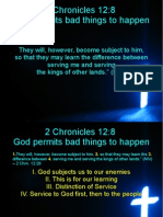 God Permits Bad Things to Happen