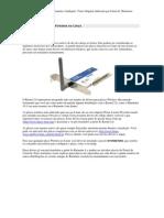 wifi instalando placas wifi no linux