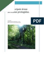 As principais áreas africanas protegidas