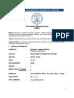 Ai1-212 Management Information Systems - Al v2
