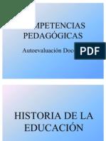 COMPETENCIAS PEDAGOGICAS