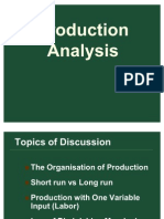 Production Analysis New