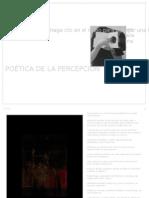 POÉTICA DE LA PERCEPCIÓN