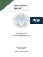 Investigacion El Transporte Urbano Zona 18 1.0