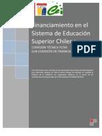 Informe Financiamiento en el Sistema de Educación Superior Chileno