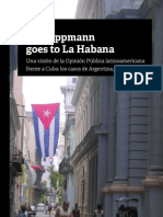 Mr Lippmann Goes to La Habana
