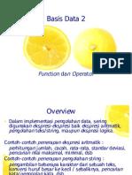 Basis Data 2 Funct Oprt