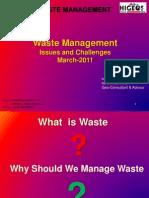 Waste Managment NKA UPES Mar 2-2k11