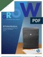 Micro Server Brochure