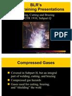 Welding Cutting Brazing Safety