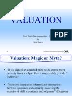 Valuation RaitonSlides
