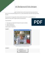 Cara Mengganti Background Foto Dengan Photoshop