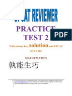 30215924 UPCAT Reviewer Practice Test 2