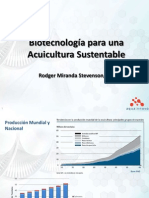 Biotecnologia Acuicultura Sustentable AQUAINNOVO Rodger Miranda