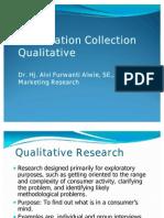 V. Qualitative Research