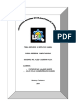 Informe Redes - Servidor de Archivos Samba