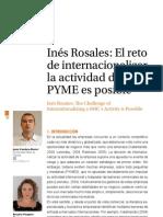 INES ROSALES internacionalización de PYMES de alimentación tradicional