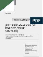 Project Report by Sumit Gupta and Anmol Kumar Shrivas
