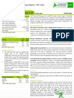 LT Finance Holding Ltd - IPO Note