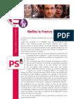 Pot de campagne 27.06 - carnet des témoignages pour F. Hollande