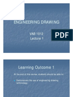 Engineering DRAWING VAB1012 Lecture 1 by Kalai [Compatibility Mode]
