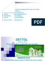 Dettol Project Ppt