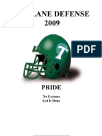 2009 Tulane Defense