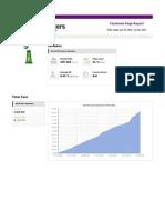 Heineken 30 Days Facebook Page Performance Report