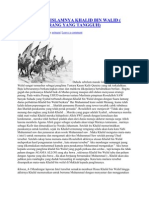 Kisah Masuk Islamnya Khalid Bin Walid