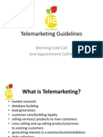 Telemarketing Guidelines 2