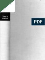 Adorno, Theodor W. - Negative Dialektik [German]