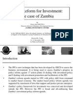 Policy Reform for Investment - Zambia
