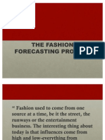 Fashion Forecasting Process