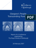 Glasgow's People - Transcending Poverties