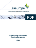 Leas Europe Ranking Survey 2010
