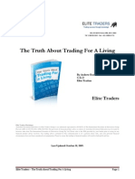 Trading for living